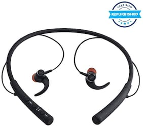 Used iBall EarWear Base BT 5.0 Neckband Earphone (Black) (Grade: Excellent)