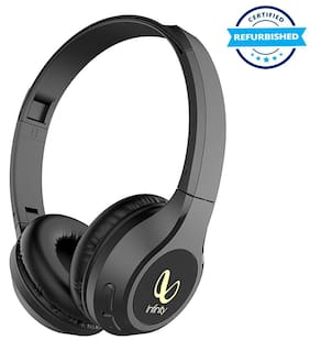 Used Infinity Glide 510 On-Ear Headphones with Mic (Black) (Grade: Excellent)