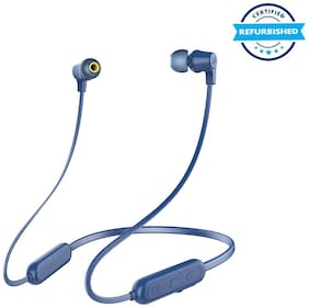 Used Infinity by Harman Glide N100 Wireless Neckband with Deep Bass Dual EQ Bluetooth 5.0 & Sweatproof (Mystic Blue) (Grade: Excellent)