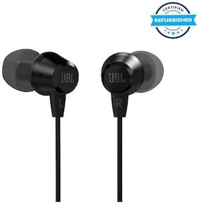 Used JBL C50HI in-Ear Headphones with Mic (Black) (Grade: Excellent)
