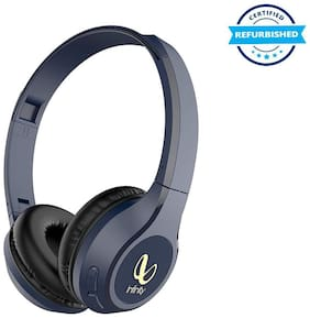 Used JBL Infinity Glide 500 Wireless Headphones Deep Bass and Dual Equalizer - Mystic Blue (Grade: Excellent)