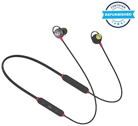 Used JBL Infinity Glide 120 Metal in-Ear Wireless Earphones, with Bluetooth 5.0 and IPX5 Sweatproof - Black and Red (Grade: Excellent)