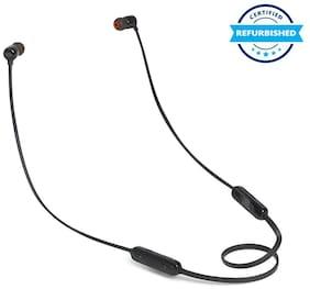 Used JBL T160BT Pure Bass Wireless in-Ear Headphones Black (Grade: Excellent)