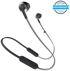 Used JBL T205BT In-Ear Earphones with Mic (Black) (Grade: Excellent)