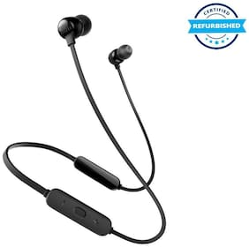 Used JBL Tune 115BT in-Ear Wireless Headphones with Deep Bass - Black (Grade: Excellent)