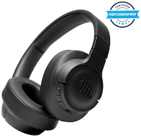 Used JBL Tune 750BTNC Wireless Bluetooth Over the Ear Headphone with Mic (Black) (Grade: Excellent)