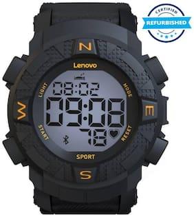 Used Lenovo Ego HX07 Men Smart watch Black (Grade: Excellent)