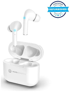 Used MuveAcoustics Free MA-3000PW True Wireless TWS Earbuds- Pure White (Grade: Excellent)