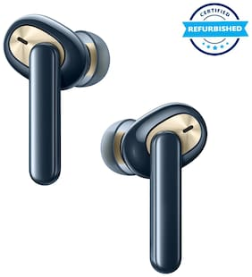 Used OPPO Enco W51 In-Ear Bluetooth Headset (Blue) (Grade: Excellent)