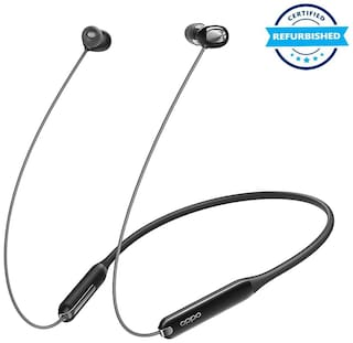 Used Oppo Enco M31 Bluetooth Neckband Earphones with Mic (Black) (Grade: Excellent)