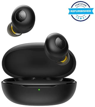 Used realme Buds Q in-Ear True Wireless Earbuds (Black) (Grade: Excellent)