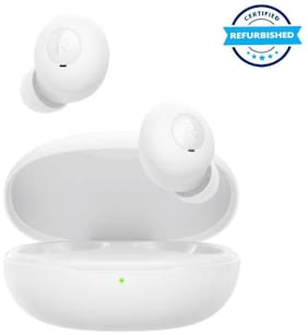 Used Realme Buds Q Bluetooth Headset (White, True Wireless) (Grade Excelllent)