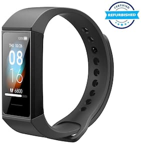Used Redmi Smart Band  HMSH01GE Fitness Band & Trackers (Black) (Grade: Excellent)