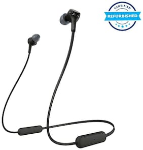 Used Sony WI-XB400 In-Ear Earphones with Mic (Black) (Grade: Excellent)