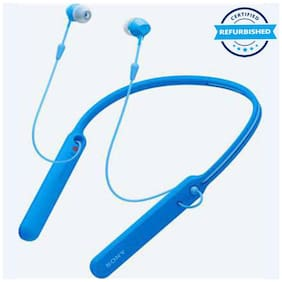 Used Sony WI-C400 In-Ear Bluetooth Headset (Blue) (Grade: Excellent)