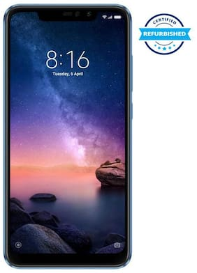 Refurbished Xiaomi Note 6 Pro 6 GB 64 GB (Black)  (Grade: Good)