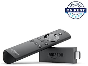 Amazon Fire TV Stick with Voice Remote streaming Device (On Rent)