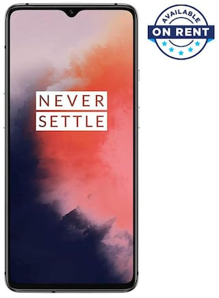 OnePlus 7T (8+128 GB) - Frosted Silver (On Rent)