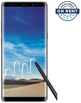 Samsung Note 8 (6+64 GB) - Black (On Rent)