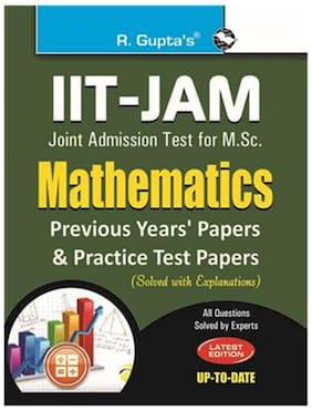Iit - Jam Joint Admission Test for M.SC. Mathematics