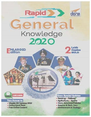 Disha's Rapid General Knowledge 2020 for Competitive Exams 2nd Edition