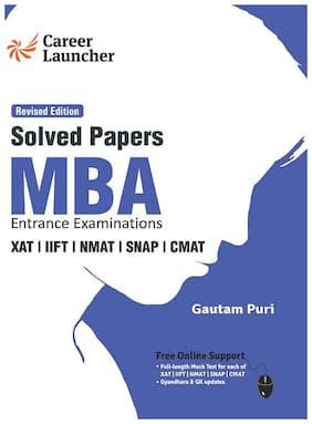G.K. Publication Pvt.Ltd MBA 2019-20 : Solved Papers (XAT IIFT NMAT SNAP CMAT)
