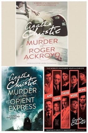 The Worlds's Favourite: And Then There Were None;The Murder Of Roger Ackryod;The Murder On The Orient Express by Agatha Christie (English;Paperback)