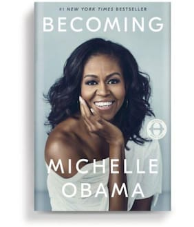 Becoming by Michelle Obama (English;Hardcover)