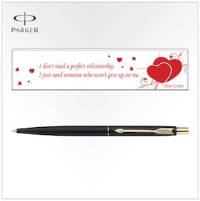 Parker Classic Matte Black GT Ball Pen (M-6)