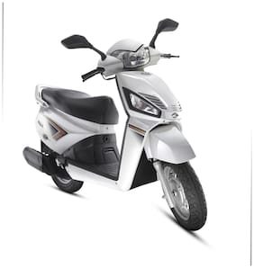Mahindra Gusto VX - White