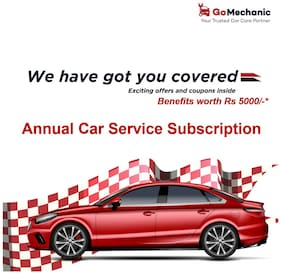 Annual Car Service Subscription