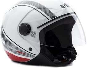 Aprilla Open Face Helmet (White)