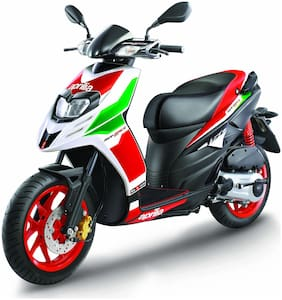Aprilia SR 150 Race Facelift With ABS  BS-IV (Ex-Showroom Price)