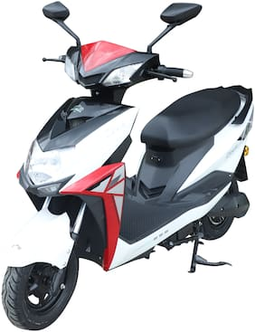 Crayon Motors Zeez 48V 27Ah Electric Scooter (VRLA) (Ex-Showroom Price)