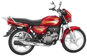 Hero Motocorp Splendor+ i3s Self Start Drum Brake Alloy Wheel - i3s BS-IV (Ex-Showroom Price)