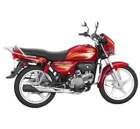 Hero Motocorp Splendor+ Kick Start Drum Brake Alloy Wheel (Ex-Showroom Price)