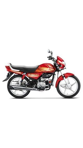 Hero Motocorp HF Deluxe Kick Start Drum Brake Alloy Wheel (Ex-Showroom Price)
