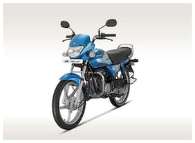 Hero Motocorp Hf Deluxe Self Start Drum Brake Alloy Wheel BS-VI (FI-All Black) (Ex-Showroom Price)