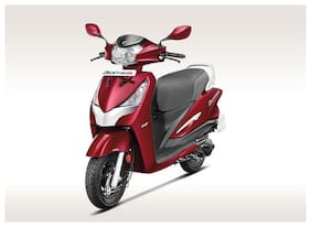 Hero Motocorp Destini 125 Drum Brake Alloy Wheel BS-VI (FI-VX) (Ex-Showroom Price)