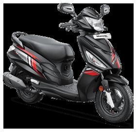 Hero Motocorp Maestro Edge 110 Drum Brake Alloy Wheel BS-VI (FI-VX) (Ex-Showroom Price)