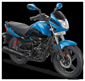 Hero Motocorp Splendor iSmart+ Self Start Drum Brake Alloy Wheel BS-VI (FI) (Ex-Showroom Price)