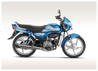 Hero Motocorp Hf Deluxe Kick Start Drum Brake Alloy Wheel BS-VI (FI) (Ex-Showroom Price)