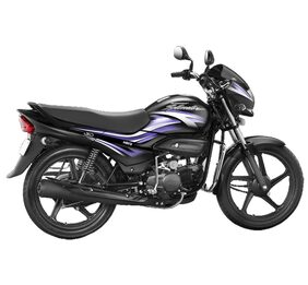 Hero Motocorp Super Splendor Self Start Drum Brake Alloy Wheel SX (Ex-Showroom Price)