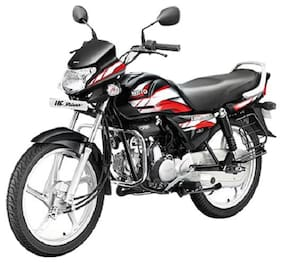 Hero Motocorp HF Deluxe - i3s Self Start Drum Brake Alloy Wheel - i3s BS-IV (Ex-Showroom Price)