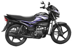 Hero Motocorp Super Splendor Self Start Drum Brake Alloy Wheel (Ex-Showroom Price)