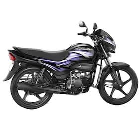 Hero Motocorp Super Splendor Self Start Drum Brake Alloy Wheel (Ex-Showroom Price)