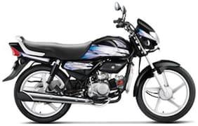 Hero Motocorp HF Deluxe Self Start Drum Brake Alloy Wheel (Ex-Showroom Price)