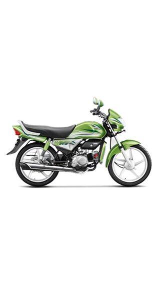 Hero Motocorp HF Deluxe Eco Self Start Drum Brake Alloy Wheel (Ex-Showroom Price)