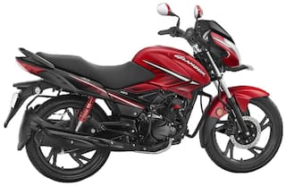Hero Motocorp New Glamour Self Start Disc Brake Alloy Wheel (Ex-Showroom Price)