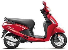 Hero Motocorp Pleasure Self Start Drum Brake BS-IV (Ex-Showroom Price)